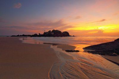 sunrise, seascape, ocean